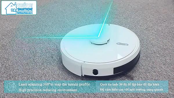 Thiết bị smarthome - Robot hút bụi thông minh goman 1