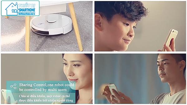 Thiết bị smarthome - Robot hút bụi thông minh goman 13