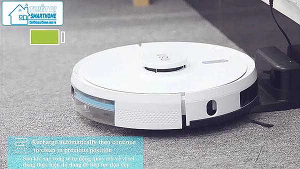 Thiết bị smarthome - Robot hút bụi thông minh goman 9