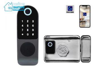 Thiết bị smarthome - Khóa cổng thông minh 277G Series 3 Goman