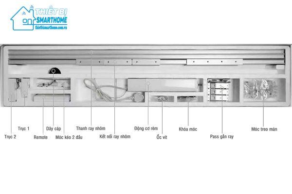 Thietbismarthome.com.vn - Động cơ rèm cửa tự động Wifi 2