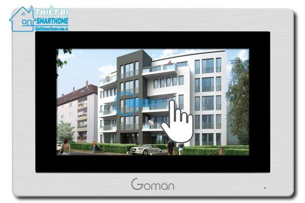 Thietbismarthome.com.vn-Chuông cửa màn hình thông minh Goman 6