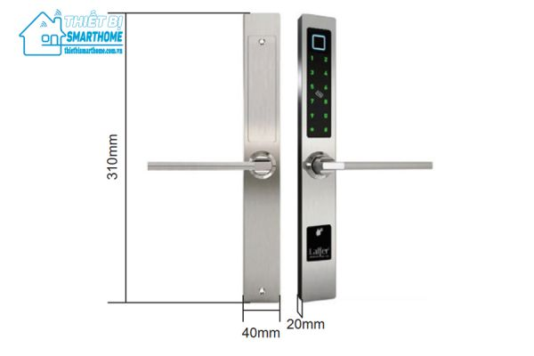 Thiết bị smarthome - Khóa cửa thông minh 5 in 1 Laffer XF18 - 2