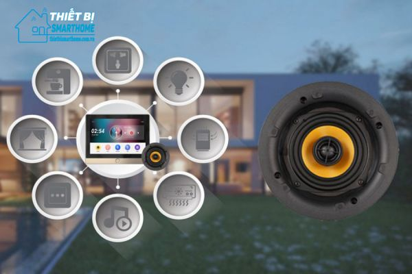 Thiết bị smarthome - Loa âm trần cao cấp 20W Goman 4