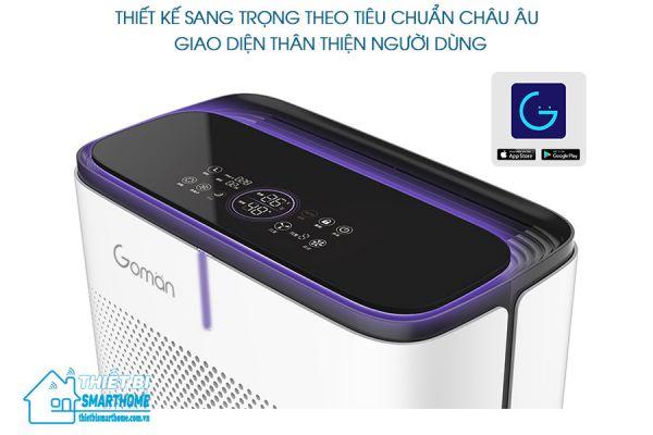 Thietbismarthome.com.vn-Máy lọc không khí thông minh Goman 2