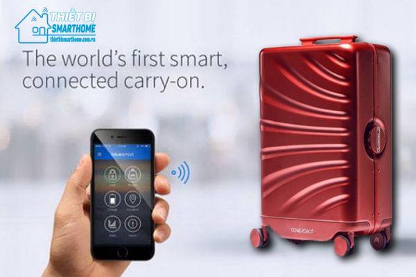 Thiết bị smarthome - Vali du lịch thông minh tự chạy theo chủ