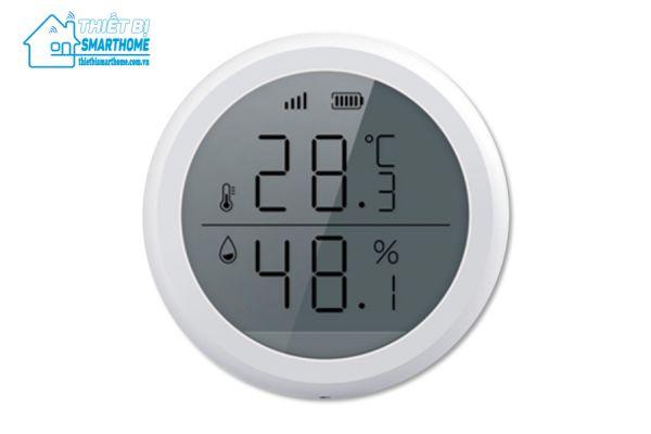 Thiết bị smarthome - Đo độ ẩm và nhiệt độ thông minh Zigbee goman