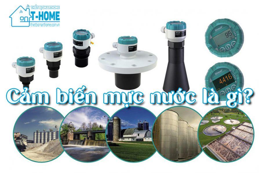 Thiết Bị Smarthome - Cảm biến mực nước là gì? Có bao nhiêu loại và ứng dụng ra sao?