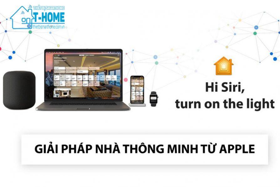 Thiết Bị Smarthome - HomeKit là gì? Tìm hiểu nền tảng nhà thông minh Apple HomeKit