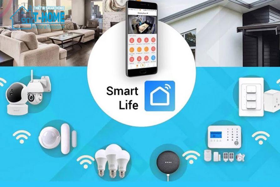 Thiết Bị Smarthome - Smart Life là gì? Cách tải và sử dụng Smart Life để quản lý thiết bị nhà thông minh